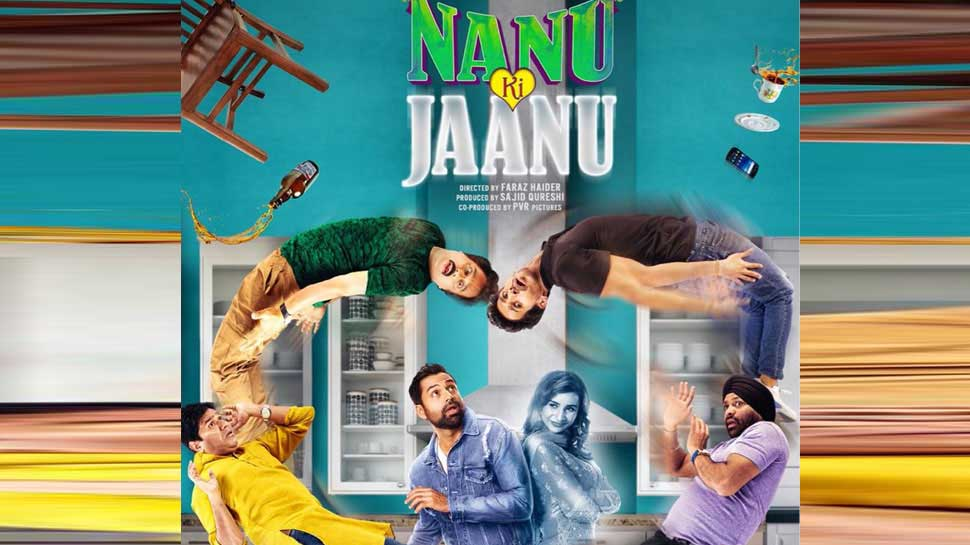 Faraz Haider'sNaanu Ki Jaanu(NKJ), a remake of the critically acclaimed Tamil filmPisaasu(2014), attempts something different and daring. It tries to give a comic spin tomaverick auteur Mysskin'sbrilliant horror thriller. But Haider's film falls flat on its face, like hundreds of other lazy remakes. Movie poster