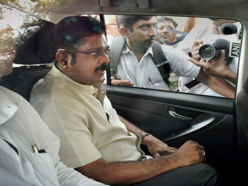 The I-T raids have political undertones since Vaikundarajan is close to jailed AIADMK leader V K Sasikala and her nephew T T V Dhinakaran.