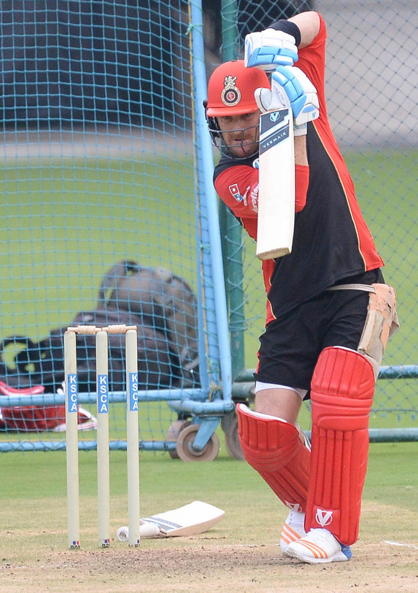 BIG WORRY RCB would want opener Brendon McCullum to find his form quickly as they struggle to seek consistency. DH file photo