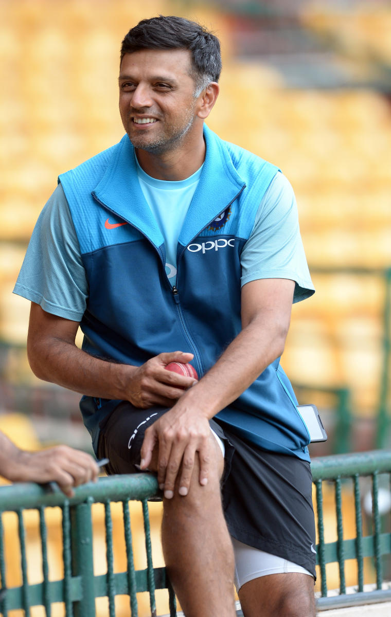 Rahul Dravid was impressed with Hyderabad pacer Mohammed Siraj's maturity. DH PHOTO/SATISH BADIGER