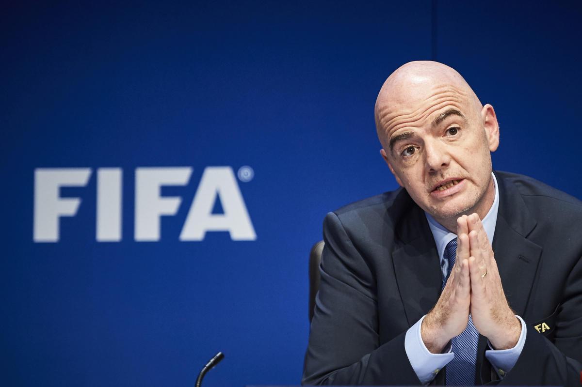 FIFA President Gianni Infantino. AFP