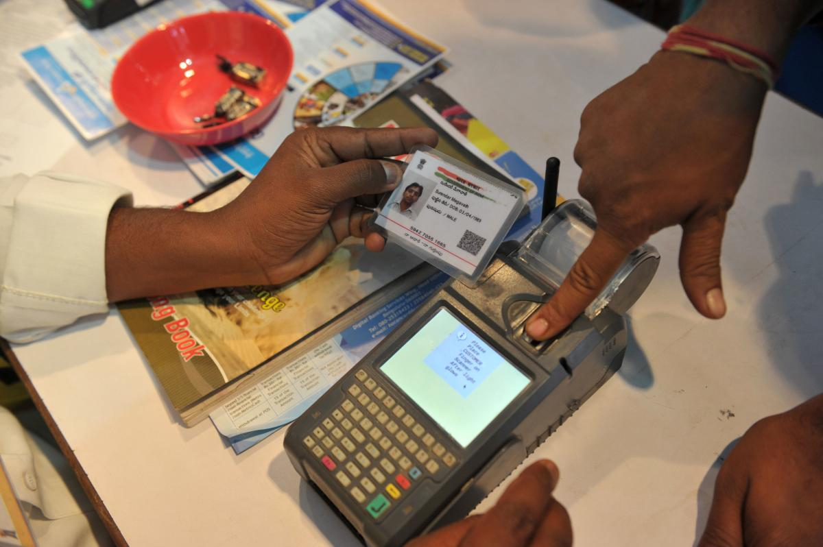 The apex court had last month in a landmark verdict restricted the use of Aadhaar by private entities in the absence of a legal provision. (AFP file photo)