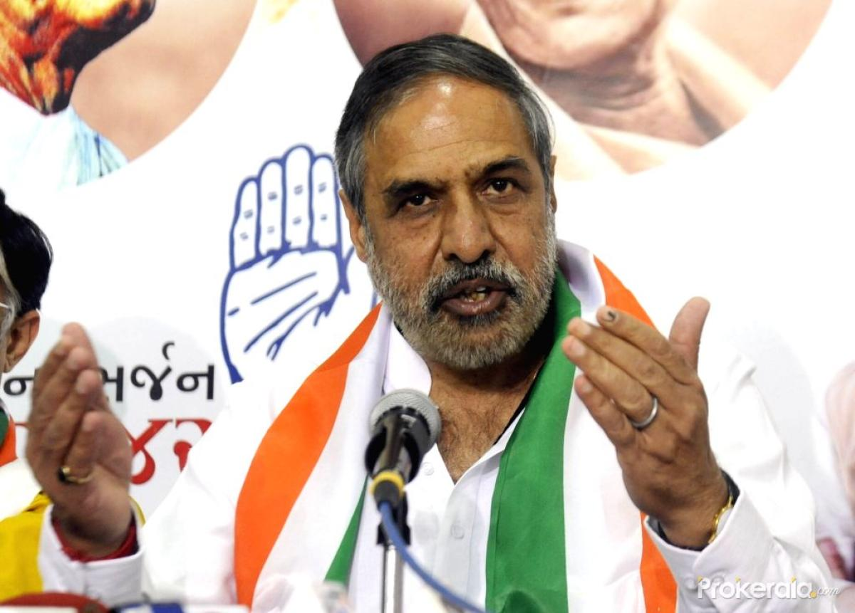 """Congress leader and former Union minister Anand Sharma said Modi's approach is """"frivolous"""" and his conduct of diplomacy lacks gravitas. He said Modi must understand that engagement with strategic partners cannot be transactional or episodic. (File Photo)"""