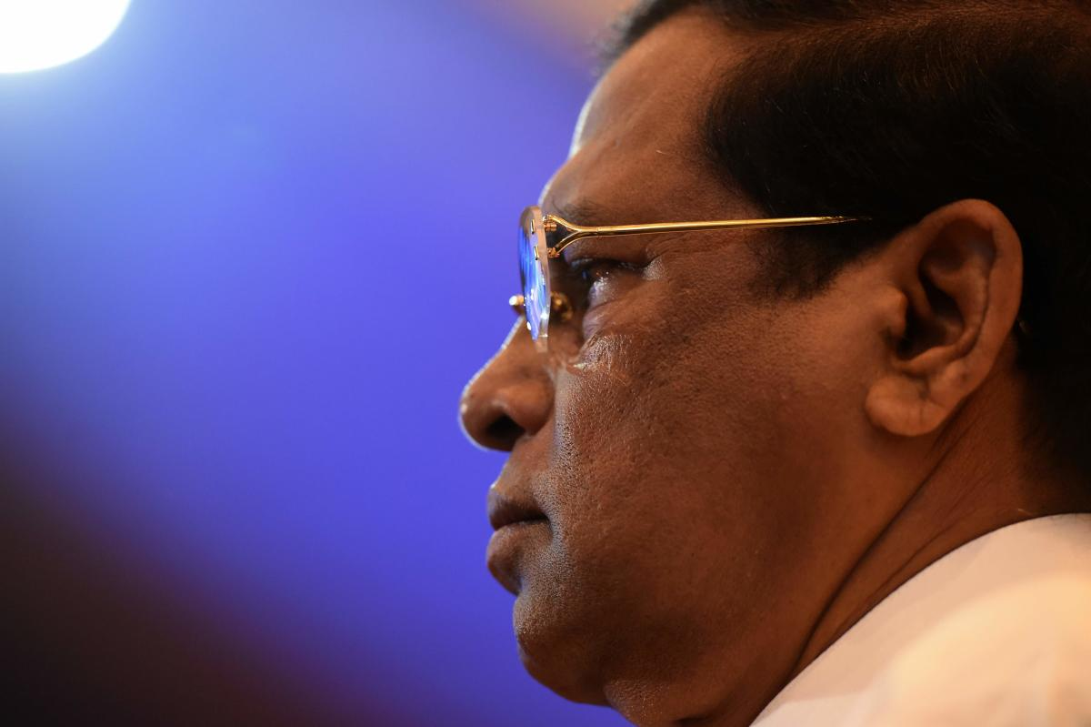 Sri Lankan President Maithripala Sirisena. (AFP File Photo)