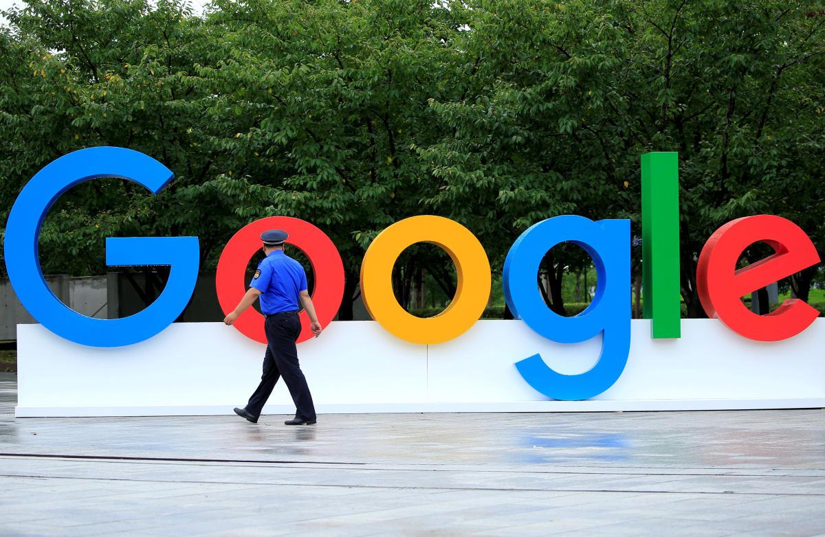 Google Logo. Reuters File
