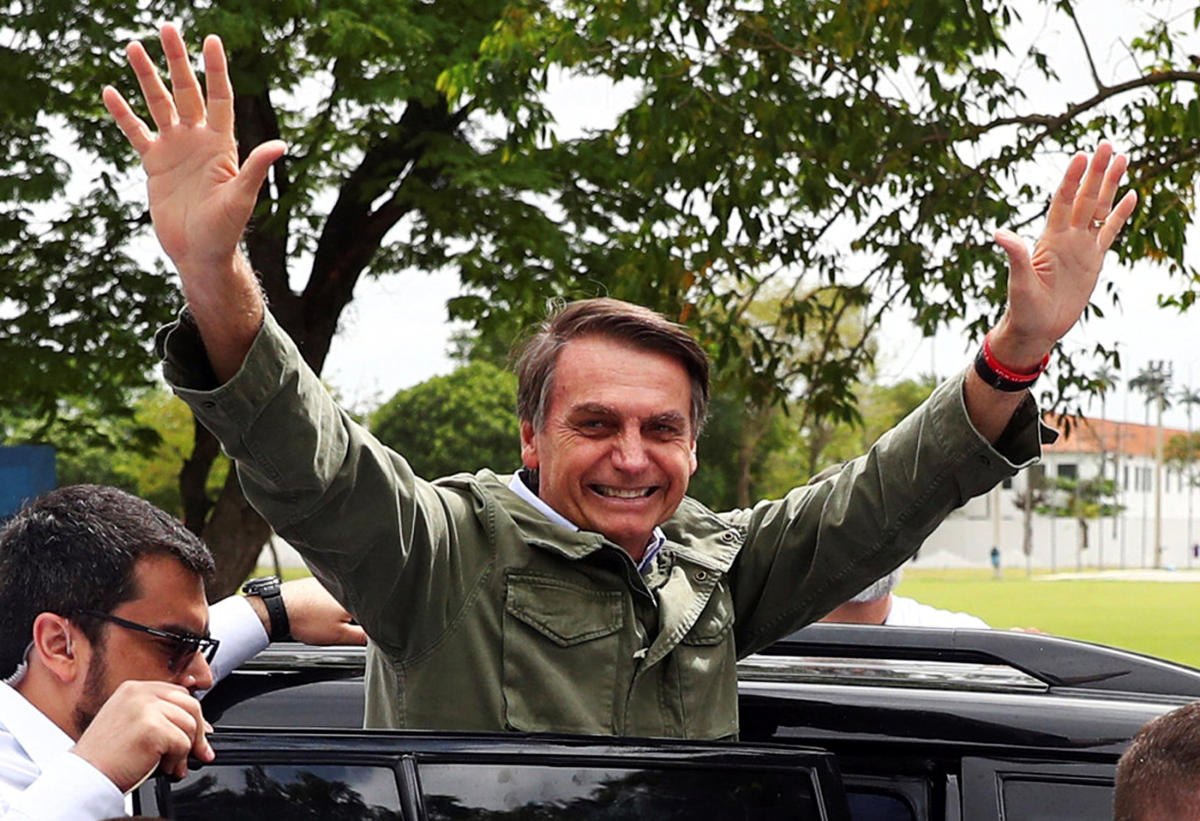 Jair Bolsonaro (REUTERS File Photo)