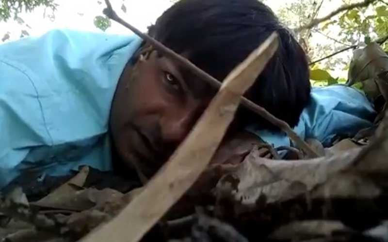 Sharma, a 35-year-old Lighting Assistant of DD News, and journalist Dhiraj Kumar survived miraculously in the attack which lasted for nearly an hour. (Video grab)
