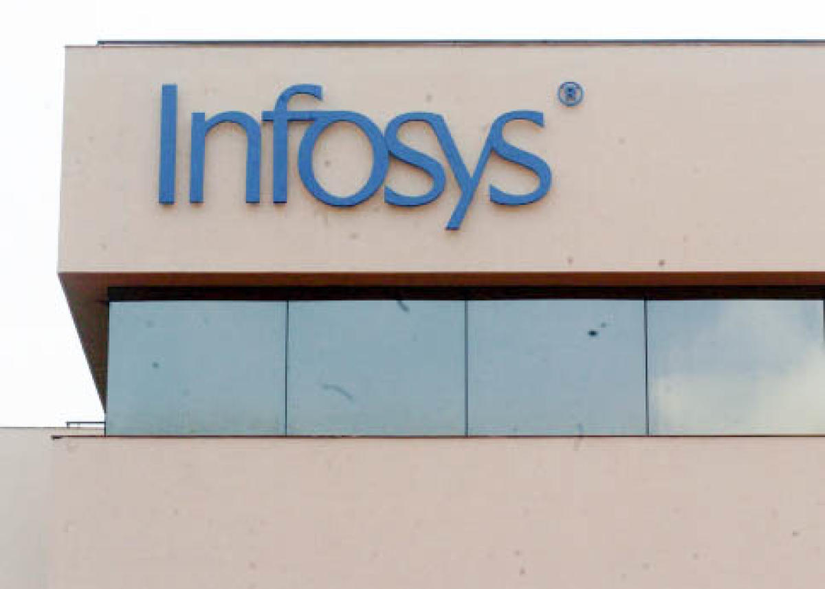 Infosysy building at Electronic city, in Bengaluru.