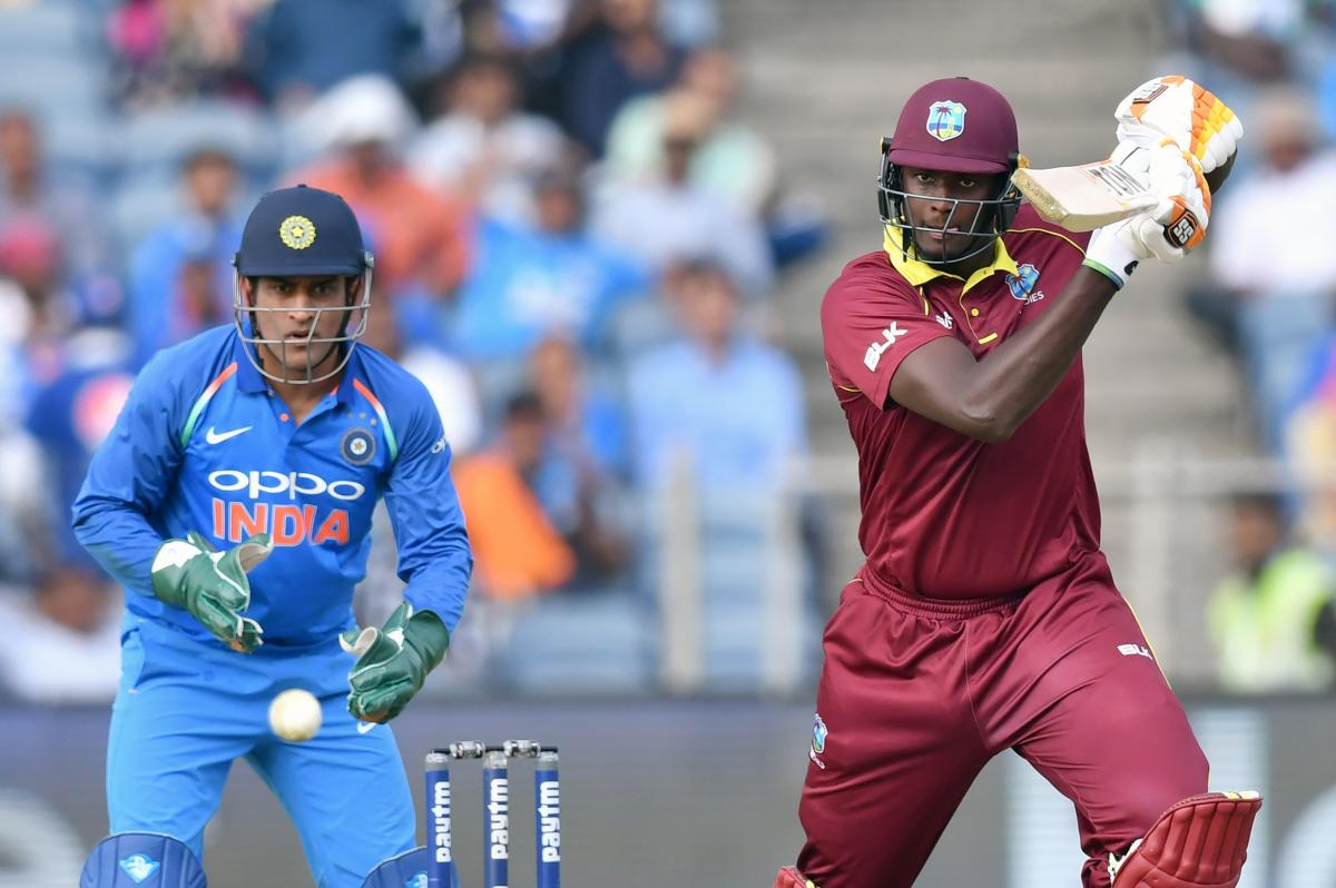 West Indies captain Jason Holder won the toss and elected to bat in the fifth and final one-dayer against India on Thursday. (AFP File Photo)