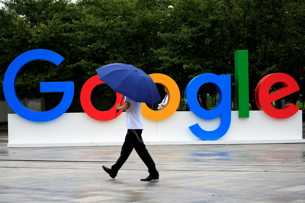 A Google Walkout For Real Change account that sprang to life on Twitter late Wednesday said that employees and contractors would leave their workplaces late Thursday morning in respective time zones. (Reuters File Photo)