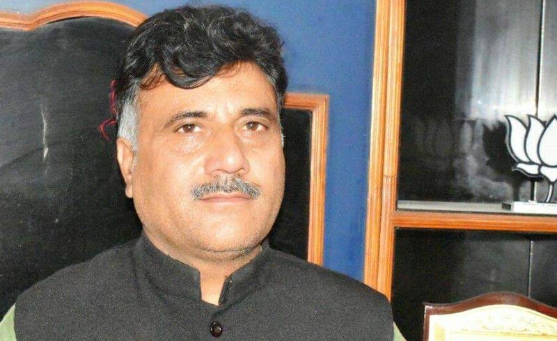 J&K BJP State secretary Anil Parihar