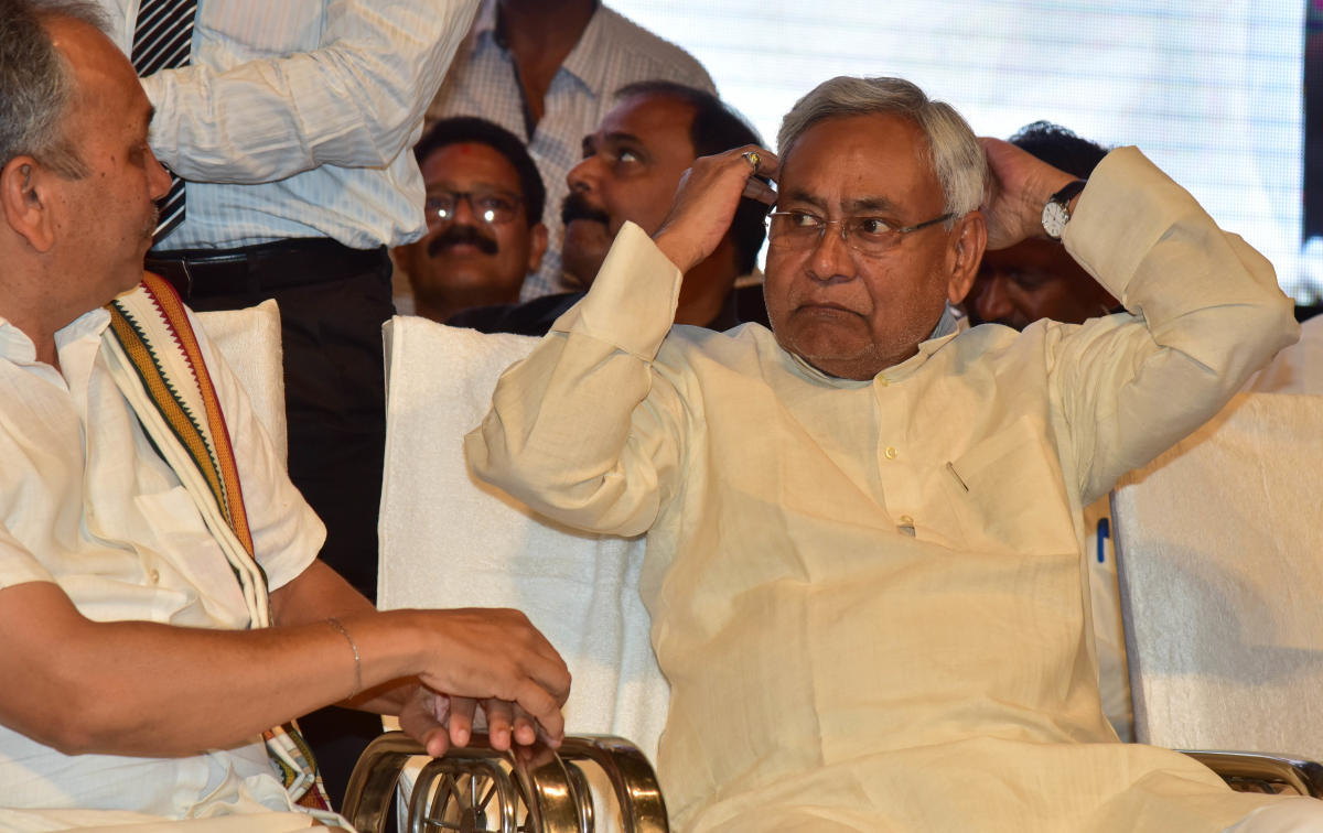 Two days ago, Kushwaha had claimed that Nitish once told him that he was 'tired' and would give up chief ministership in 2020, after serving as Bihar CM for around 15 years. (DH File Photo)