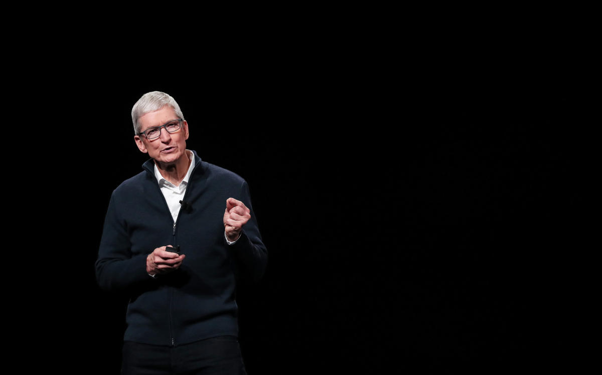 Apple CEO Tim Cook. Reuters file photo