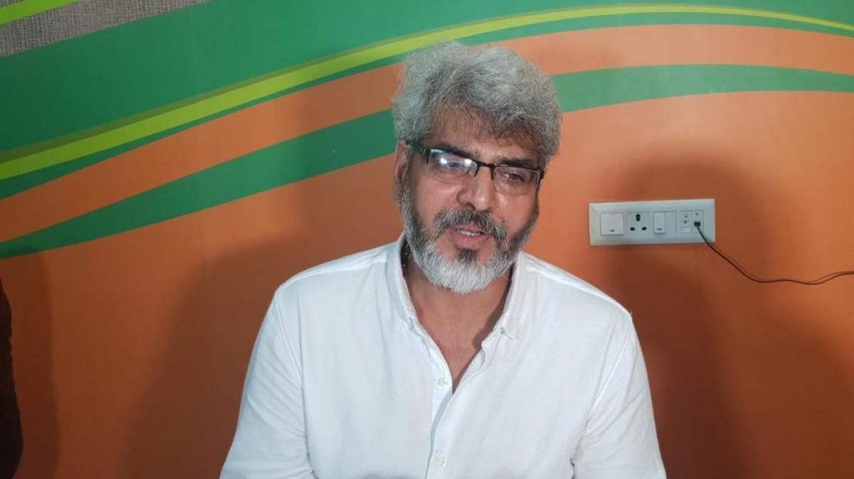 Rakesh Pandey. DH PHOTO/ K N Kishore
