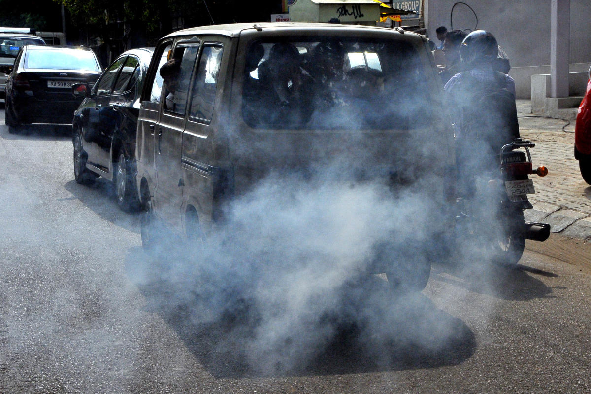 The move is aimed at tackling air pollution. dh file photo