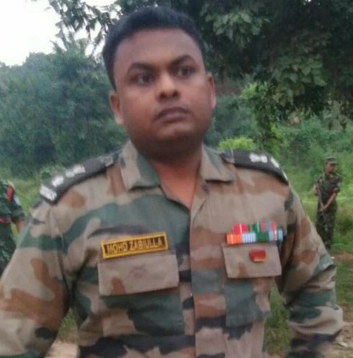 Lt Col Mohammad Zabiulla
