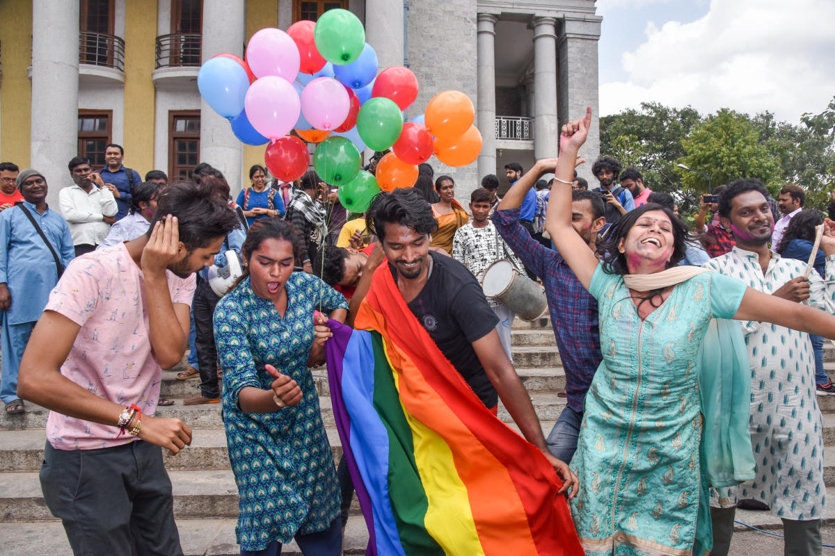"""Reading down Section 377 of the Indian Penal Code, 1860, the Hon'ble Court said, """"History owes an apology to the members of this community (i.e. sexual minorities) and their families, for the delay in providing redressal for the ignominy and ostracism that they have suffered through the centuries."""" This historic judgment marked the demise of a draconian colonial law that persecuted sexual minorities in India by stripping them of their dignity, and decisional and spatial autonomy.(DH File Photo)"""