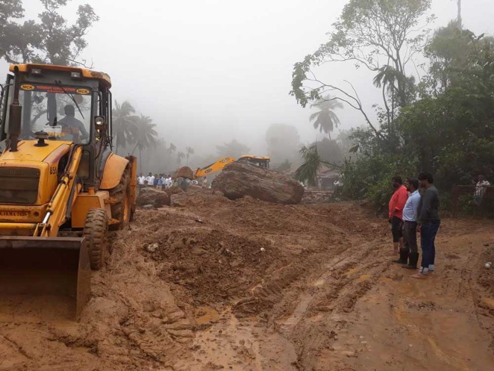 The landslides in the second week of August had taken a toll on the highway from Jodupala to Madikeri. Portions of the roads were washed away at Monnangeri, Madenadu, Hattihole and other areas. The district had banned the movement of vehicles on the stretch. To help the residents, the KSRTC had been allowed to run minibuses from Koinadu to Madikeri. DH file photo