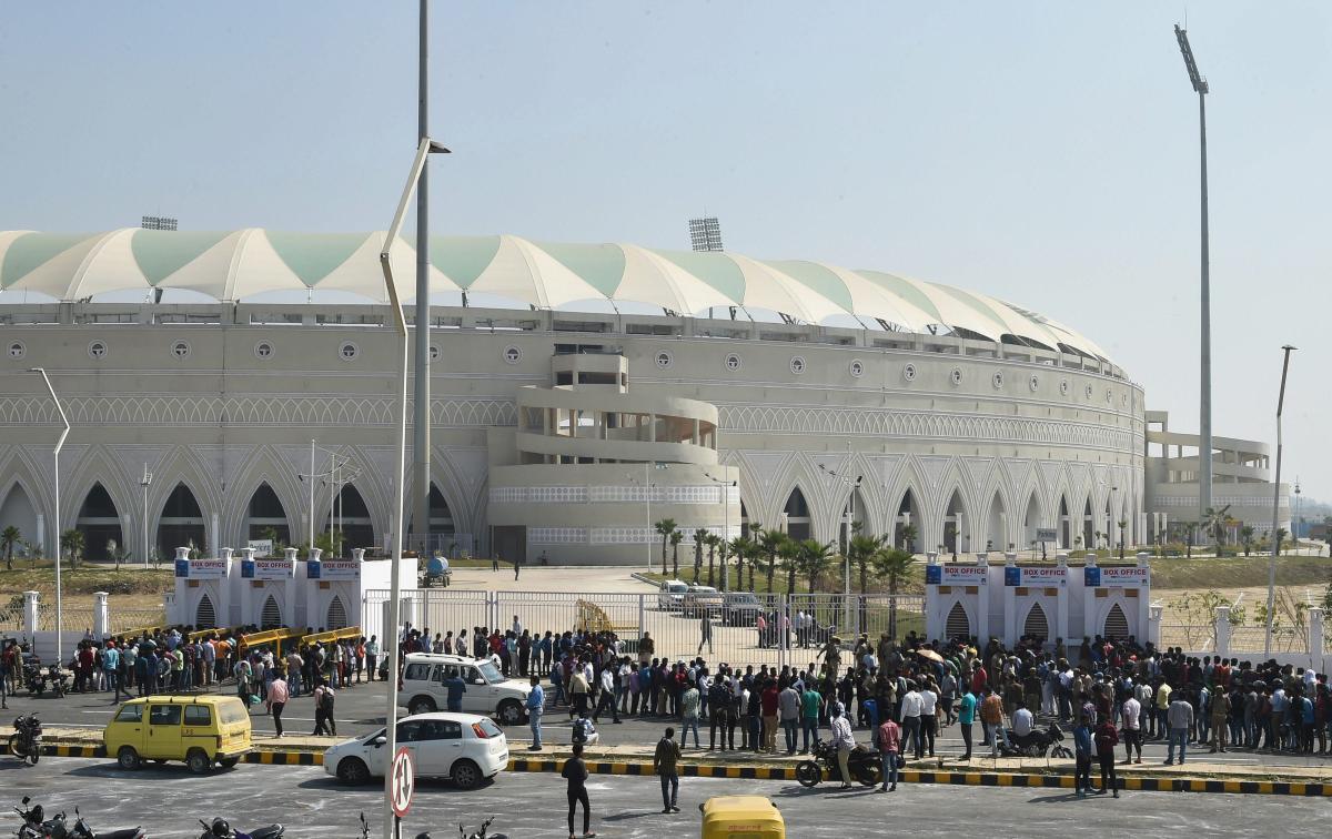 Ekana Stadium in Lucknow. PTI file photo