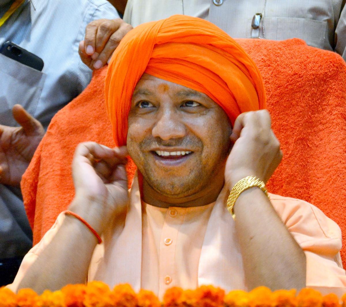 Uttar Pradesh CM Yogi Adityanath may make announcement on Diwali. (PTI Photo)