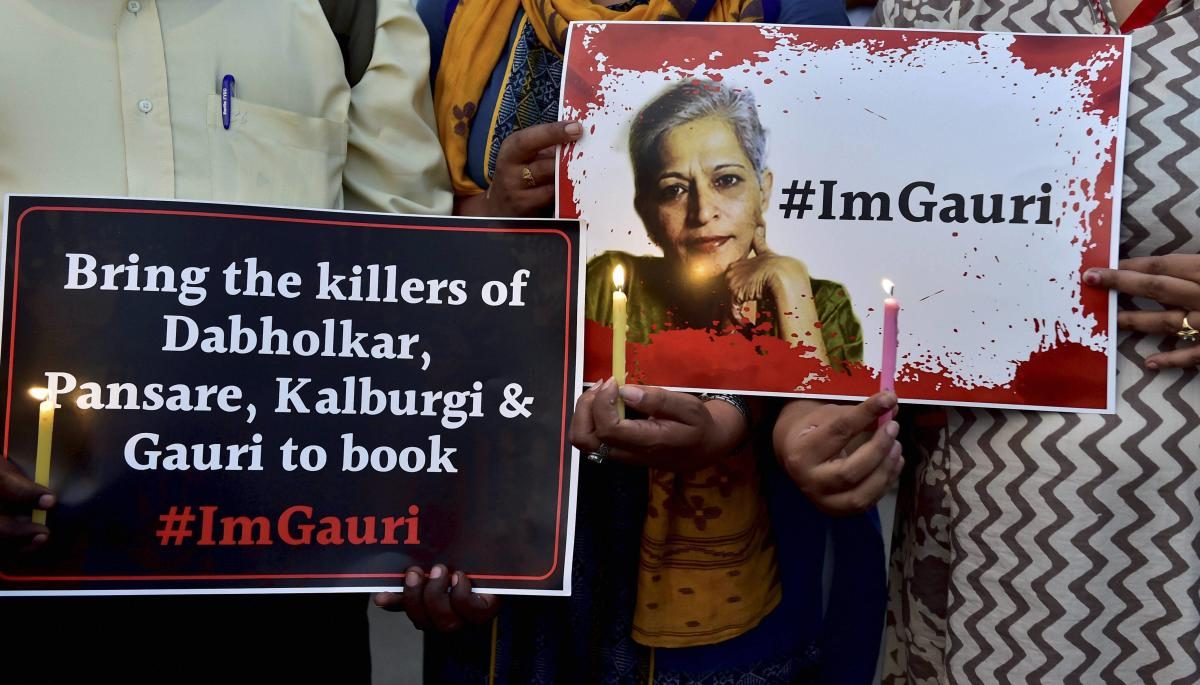 In a major breakthrough, the Central Bureau of Investigation (CBI) has established connections between the murders of rationalist Dr Narendra Dabholkar and jouralist-activist Gauri Lankesh. PTI file photo