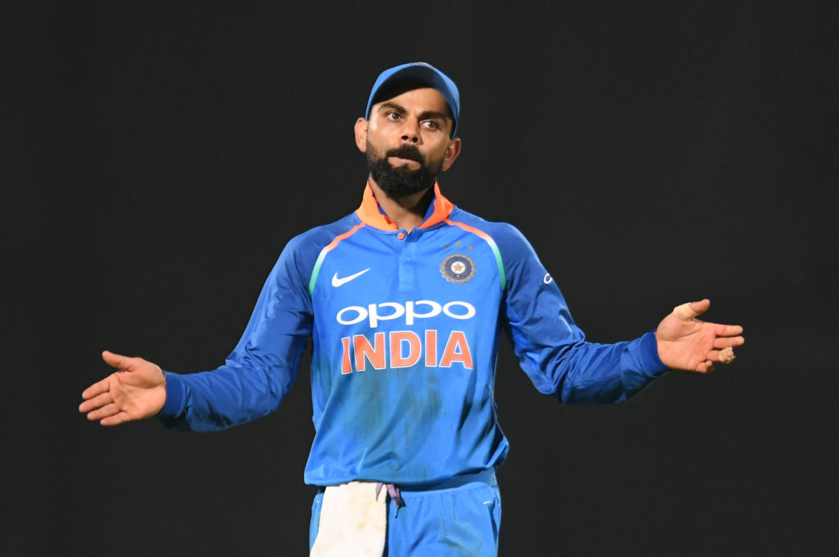 In a video that has gone viral for all the wrong reasons and available on his newly released app, Kohli was reading tweets and Instagram messages before coming across a user, who said the Indian mainstay has nothing special in his batting.