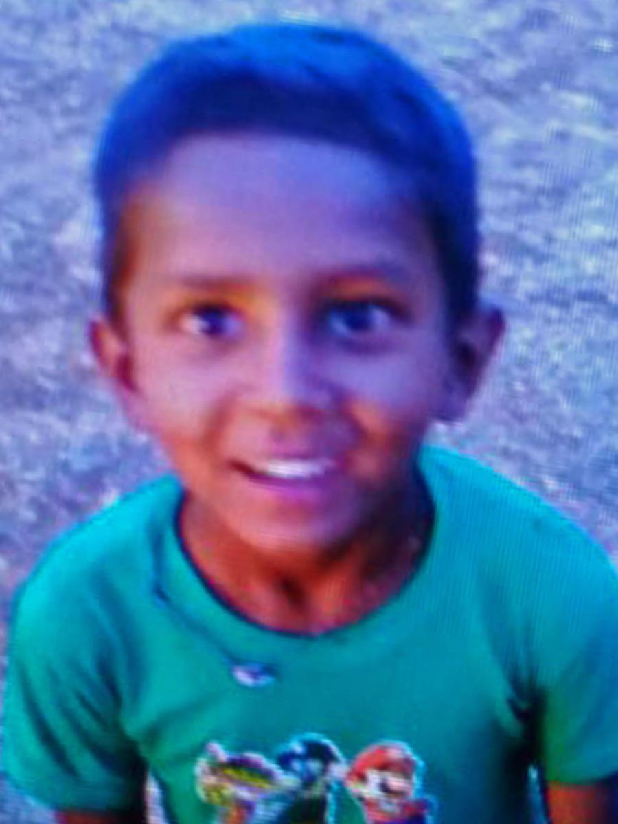 Six-Year-Old Gautham who drowned in a sump near his house in Harokyathanahalli near Madanayakanahalli on Tuesday.