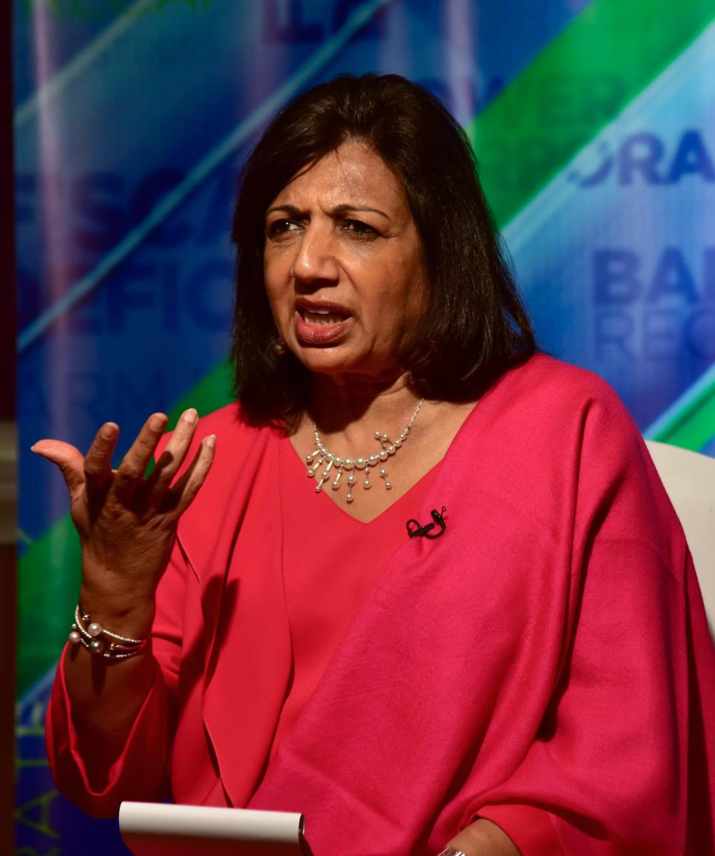Chairperson and Managing Director of Biocon, Kiran Mazumdar-Shaw. DH Photo
