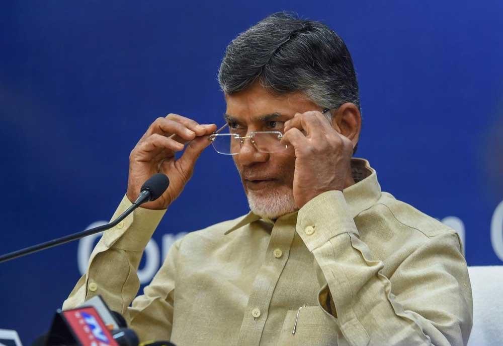 Andhra Pradesh Chief Minister Nara Chandrababu Naidu. (PTI File Photo)