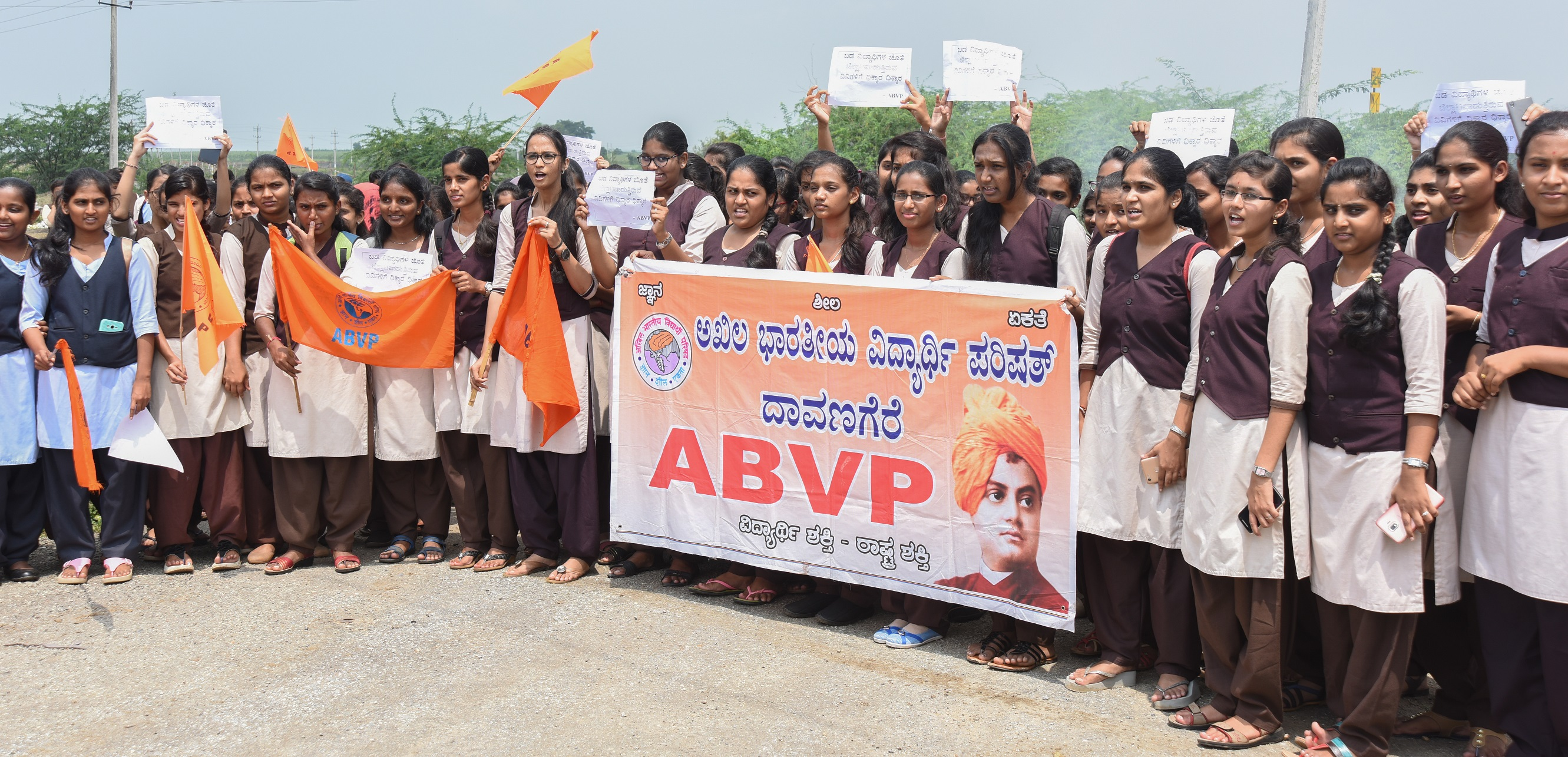 The ABVP which was blamed for the suicide of Rohith Vemula, bounced back by winning all the six positions in the union