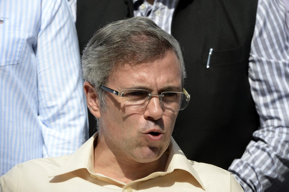 Jammu and Kashmir former chief Minister Omar Abdullah. AFP File Photo