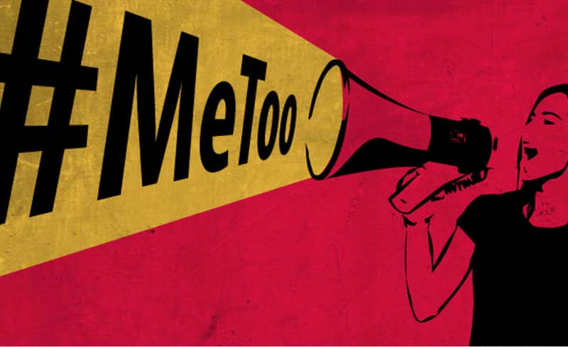 The reactions from society to the #MeToo Movement has been as shameful as the silence when instances of sexual harassment take place. Photo courtesy Flickr