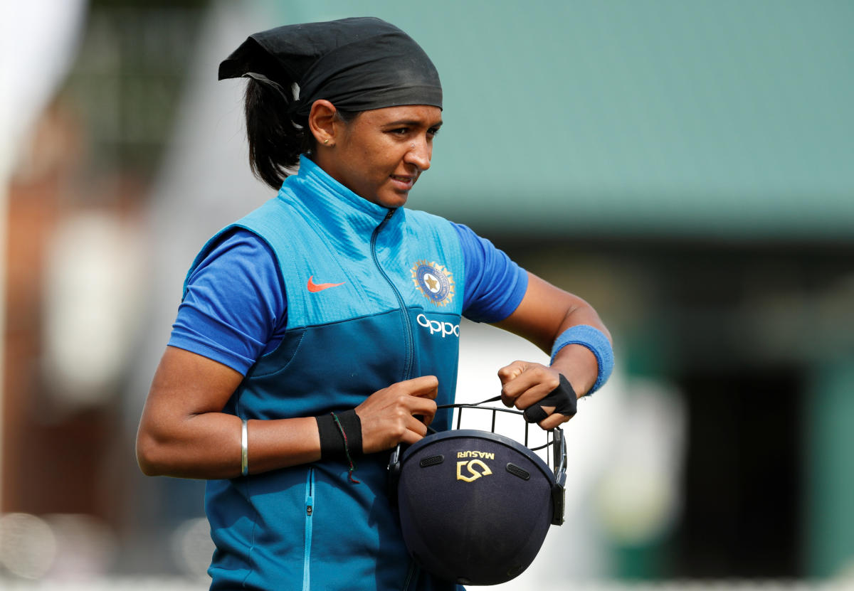 Known for her penchant to raise the bar on biggest platforms, the skipper smashed her way to an unbeaten 103 off 51 balls in India's comfortable 34-run win against New Zealand in the opening game of the ICC World T20. (Reuters File Photo)