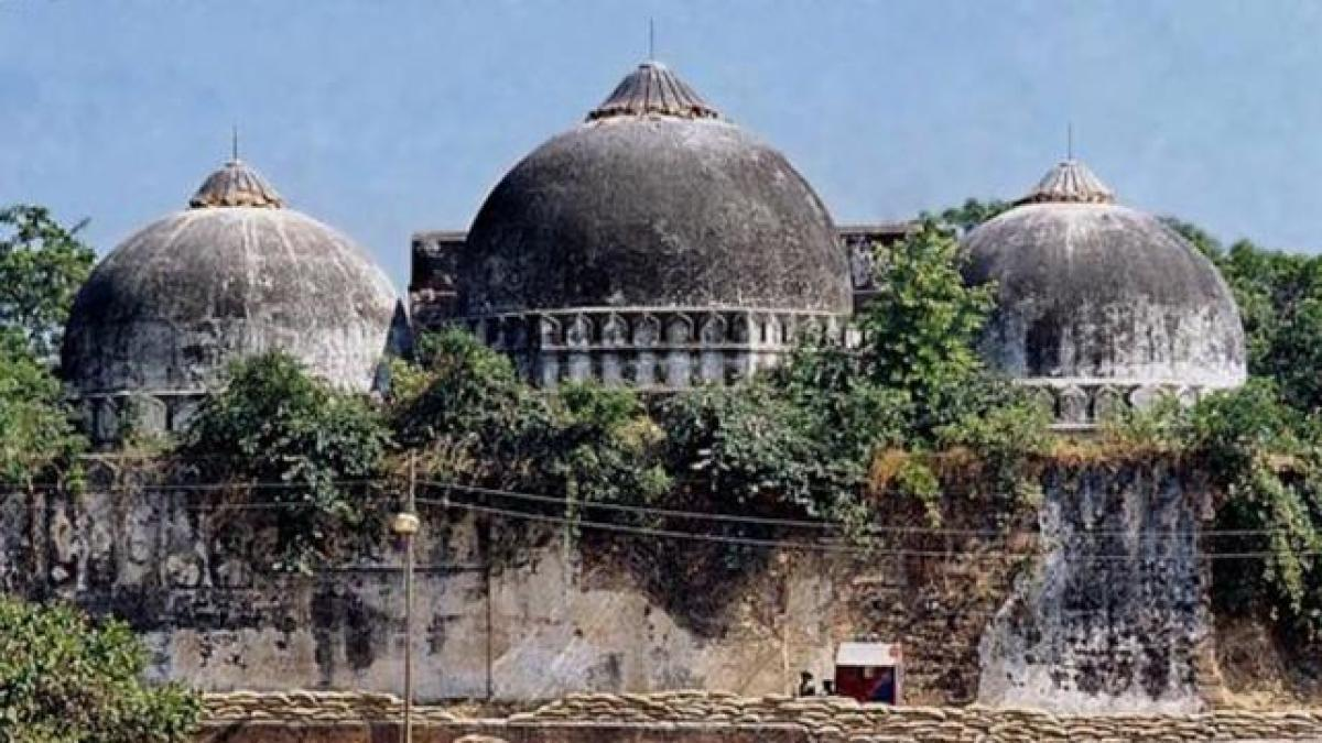 """Uttar Pradesh minister Shrikant Sharma said, """"The Allahabad High Court had in its judgement clearly mentioned that a Ram temple existed in Ayodhya and a subsequent geological survey supported it."""""""