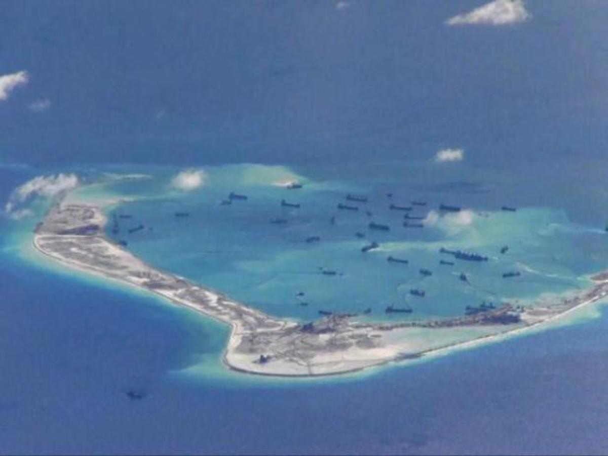 South China Sea. File photo
