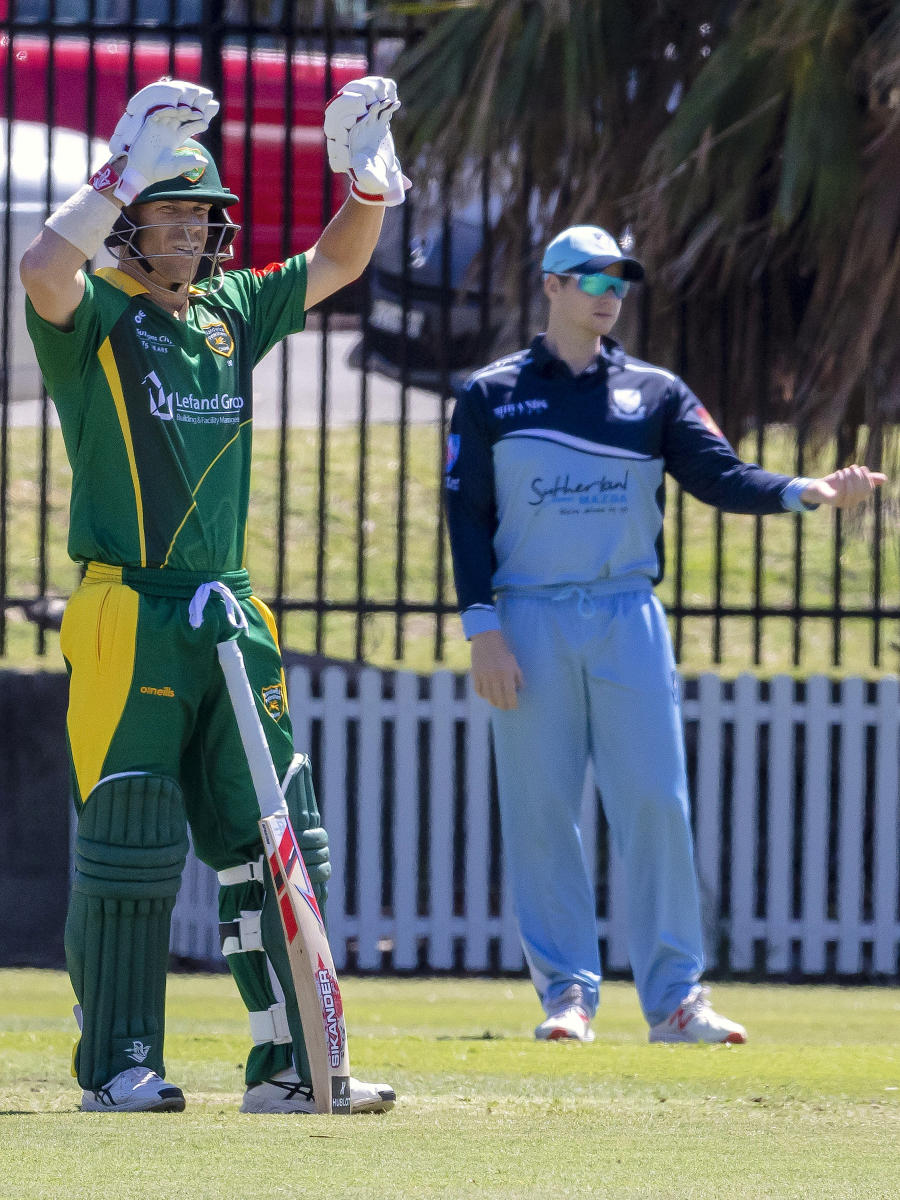 LONG AWAITED RETURN Steve Smith (right) and David Warner in action during a domestic game on Saturday. REUTERS