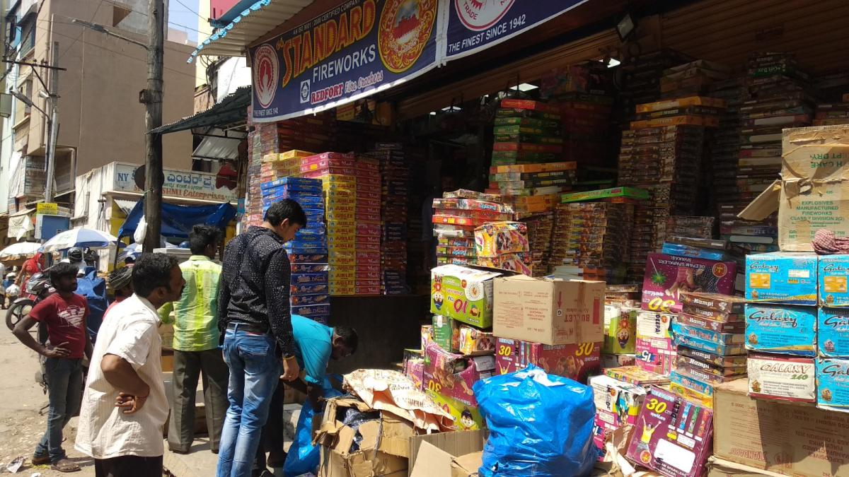 Though Deepavali sentiments have not been affected, buyers are keeping away from noisy crackers this time.