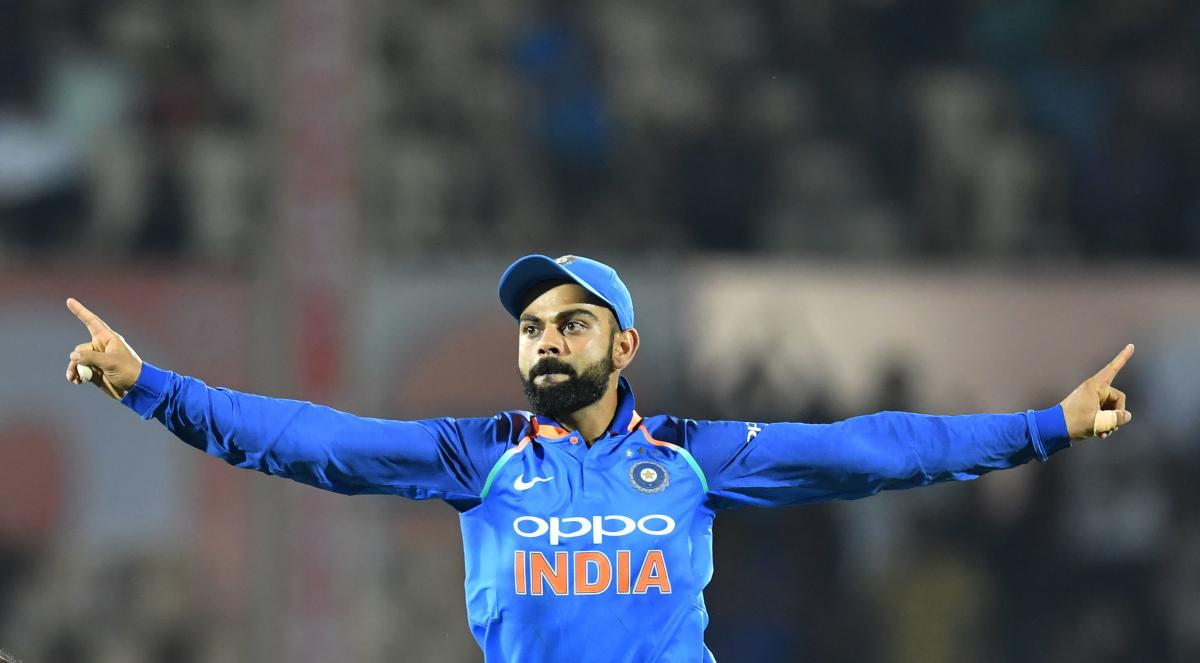 Kohli remained in pole position with 899 points while limited overs vice-captain Rohit Sharma remained second in the list. AFP file photo