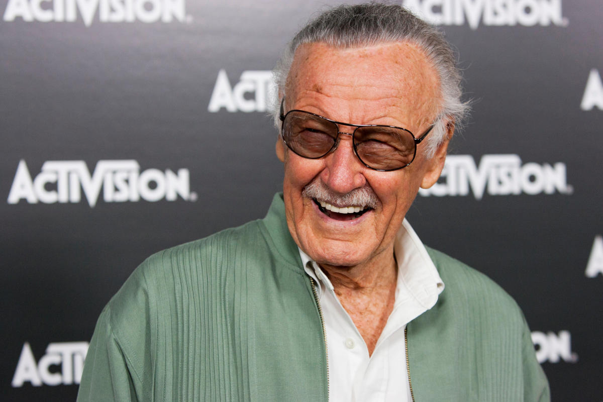 Lee, who revolutionized pop culture as the co-creator of iconic superheroes characters such as Spider-Man, Thor and The Hulk, died early Monday at the age of 95. Reuters File Photo