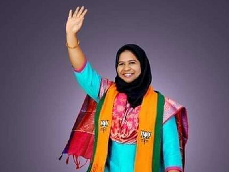 """There has been no development in the lives of common people in the old city, particularly in the Chandrayangutta constituency,"""" Shahezadi said at the state BJP office after her name was declared."""