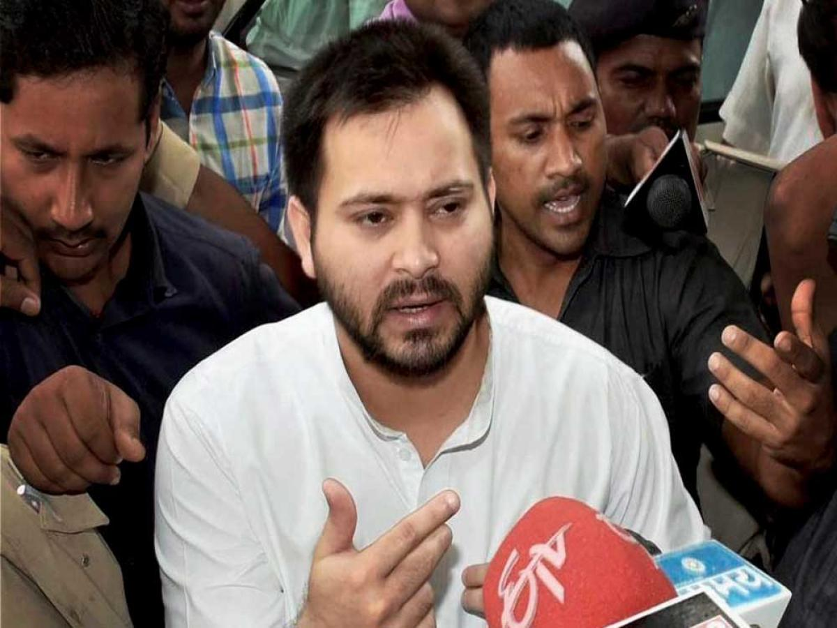 Former Deputy Chief Minister and Leader of the Opposition Tejashwi Yadav. File photo