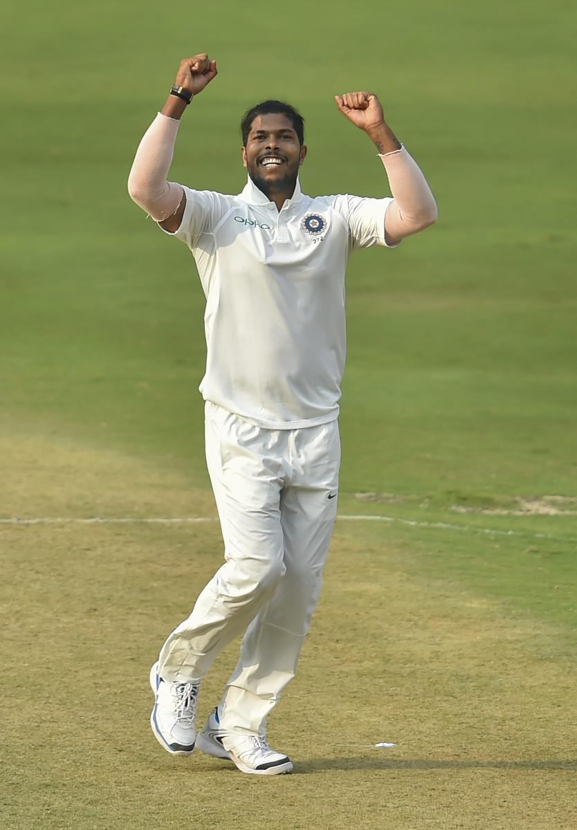 MR DEPENDABLE: Indian speedster Umesh Yadav has been the go-to man for skipper Virat Kohli in sub-continental conditions. PTI