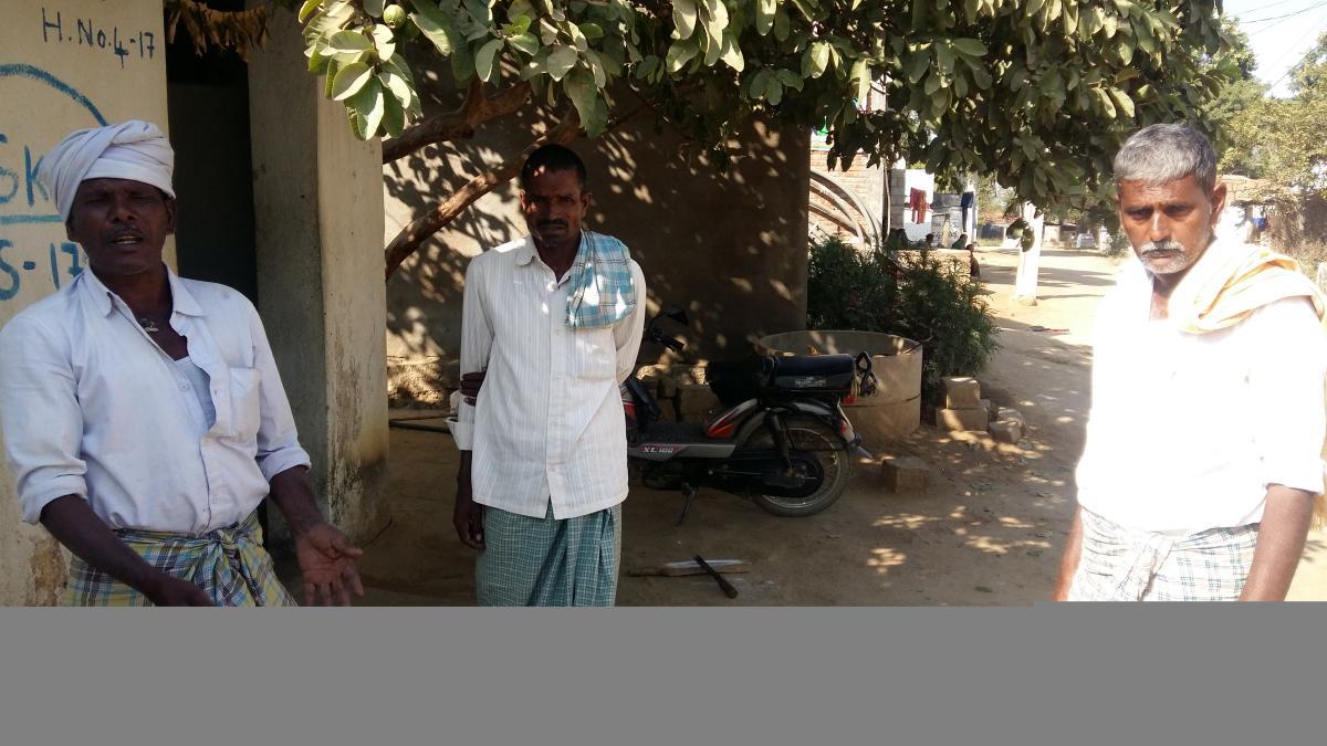 Villagers of SingaramOngoing work of Mallannasagar reservoirBy JBS umanadh
