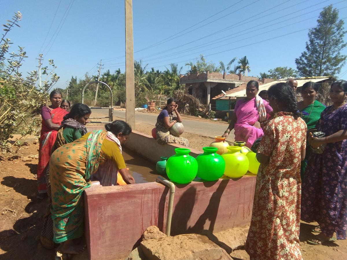SOURCING WATER: The Rural Development and Panchayat Raj (RDPR) department had conceptualised the Jaladhare project to provide 85 litres per capita per day (LPCD) to rural habitations that are not already covered by any multi-village water supply scheme an
