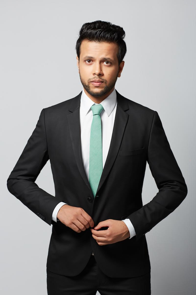 Sapan Verma is a member of 'East India Comedy'.