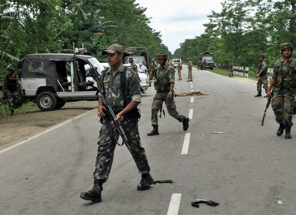 The Ulfa group also alleged that the circle was also involved in assisting smuggling of timber from Arunachal Pradesh to Assam up to Moran in Dibrugarh district in lieu of money. File photo