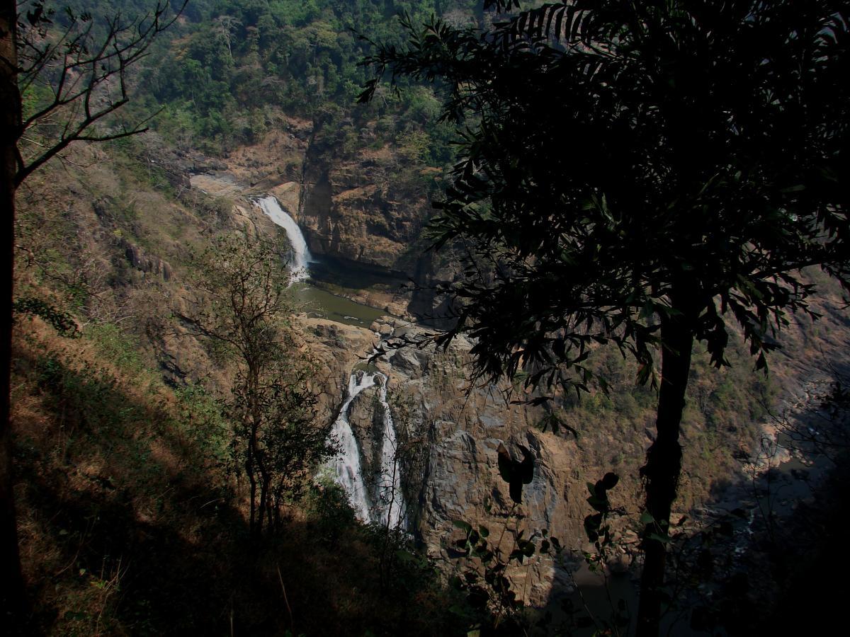 Magod Falls; (right) Marikamba Temple; (below) Vadiraja Mutt, Sirsi. PHOTOS BY AUTHOR