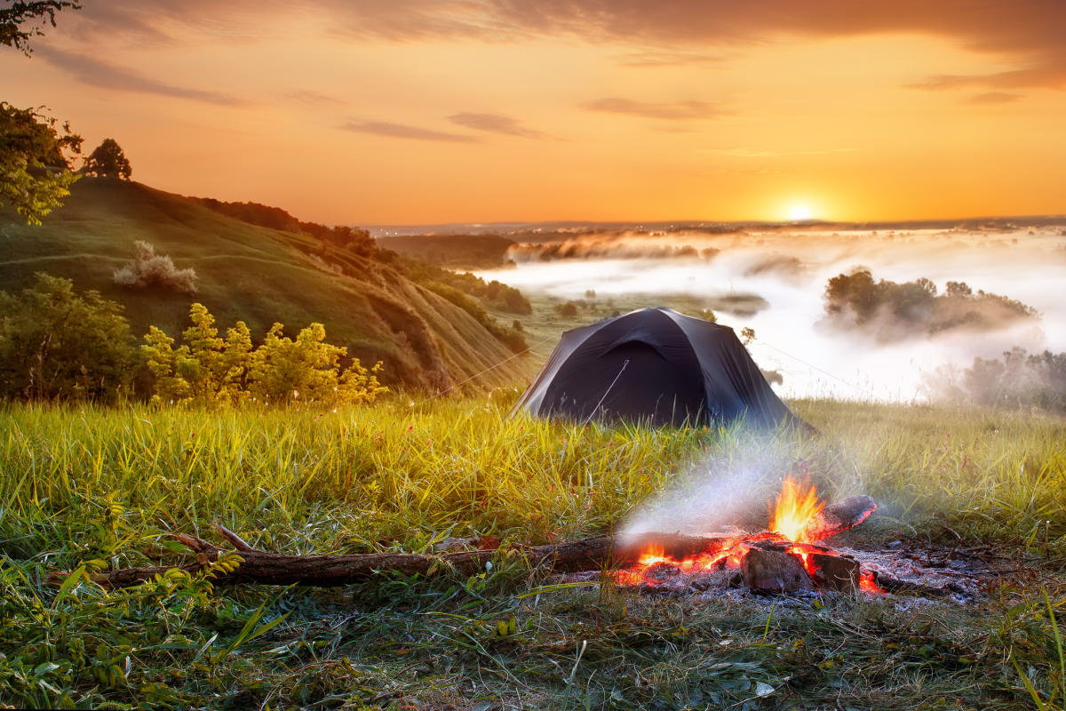 The joy of camping amidst nature and being one with the elements is one of life's greatest pleasures.