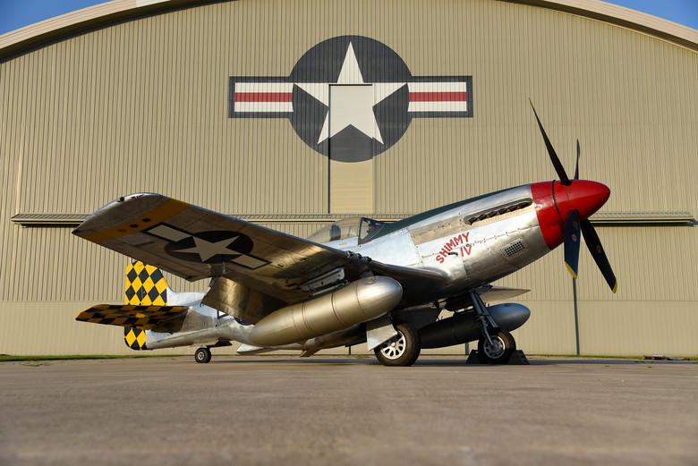A P-51D. Representative image