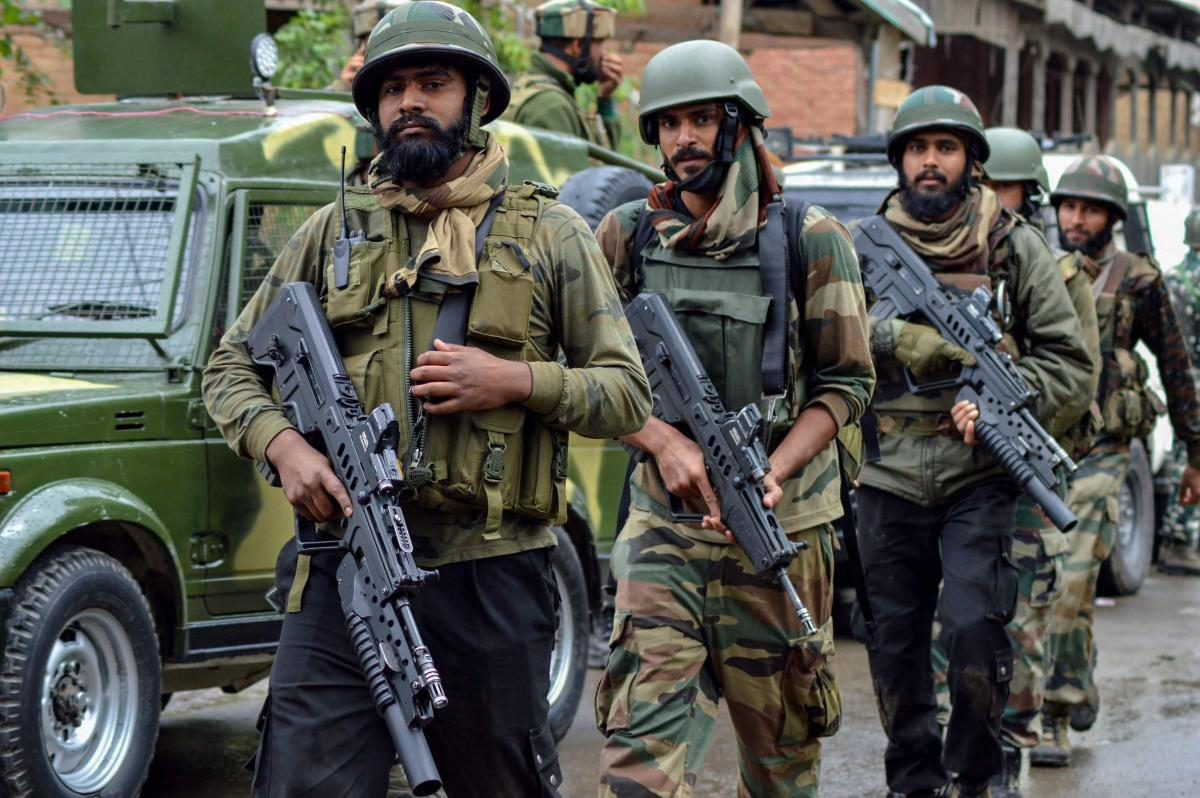 The cordon and search operation (CASO) was launched in at least eight villages in Pulwama and Shopian districts in south Kashmir early this morning, a police official said. PTI File Photo